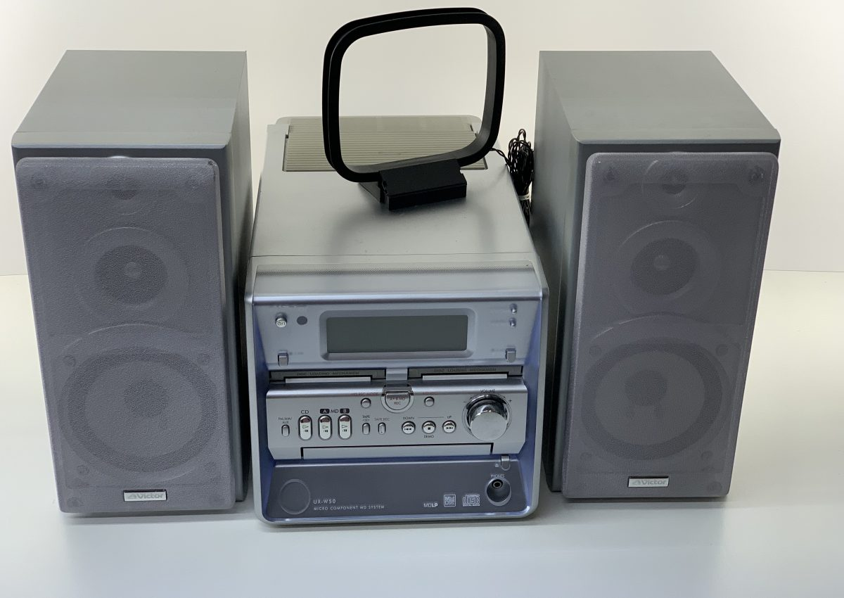 【マイクロコンポーネントステレオなど買取】JVC UX-W50